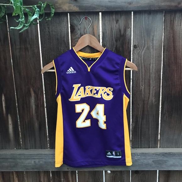 adidas Shirts & Tops | Kobe Bryant Lakers Kids Jersey | Poshmark